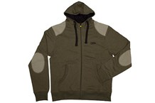 FOX CHUNK Zipped Hoody Khaki