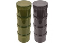 RidgeMonkey Hook Bait Pots Black/Green