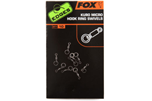 FOX Swivels Kuro Micro Hook Ring Swivels