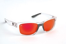 Fox Sunglasses Trans Mirror Red